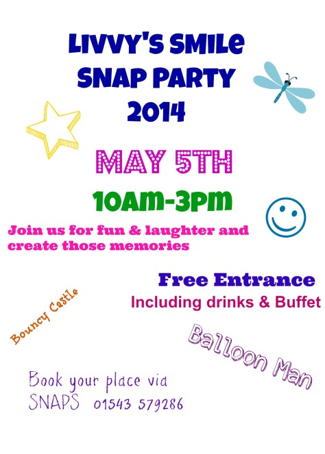 Livvy's Smile SNAP Party 2014